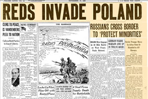 Reds Invide Poland, The Chicago Tribune, September 17, 1939